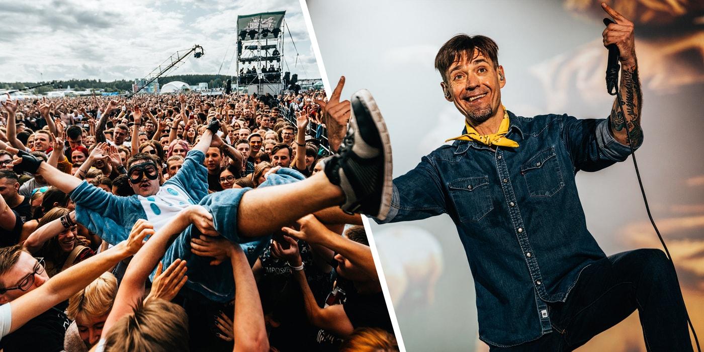 Баста, «Ляпис-98» и «Петля пристрастия» дали жару на фестивале «Рок за Бобров». Смотрите, как это было(43 фото)