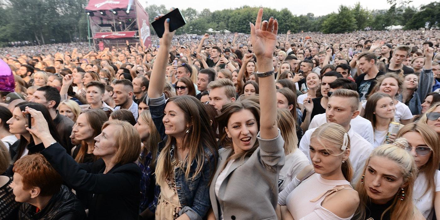 По оценкам организаторов, A-Fest в Лошицком парке посетили 170 тысяч человек(дополнено)
