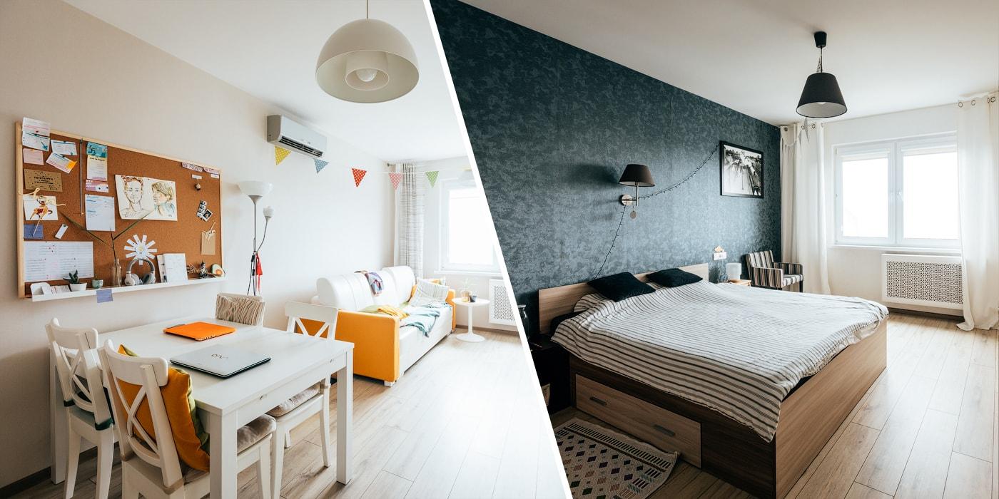Минчанин выкупил две квартиры в панельном доме и сделал двухэтажные апартаменты. Вот как это выглядит(спецпроект)