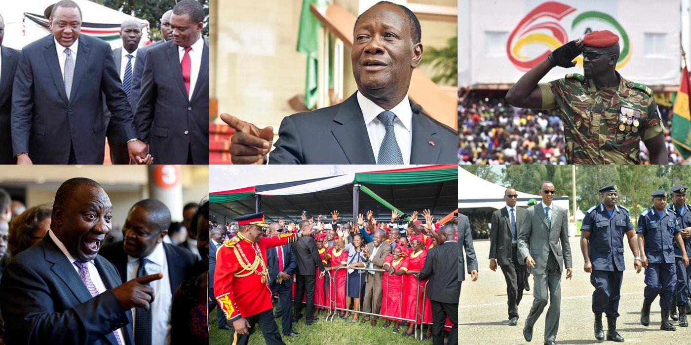 Альфа Конде был самым охраняемым президентом Африки. Чем это закончилось?(видео)