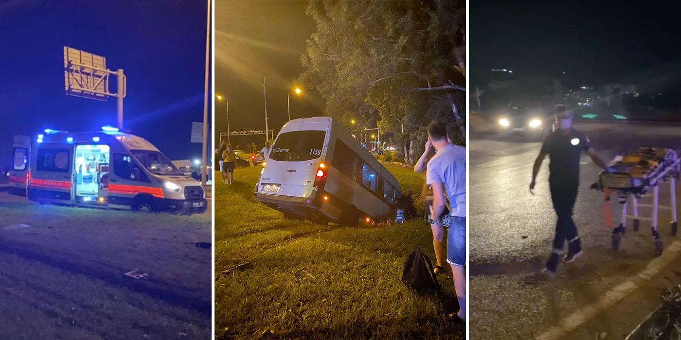 В Турции трансфер с белорусками попал в серьезную аварию. Девушки требуют компенсации за испорченный отпуск(видео)
