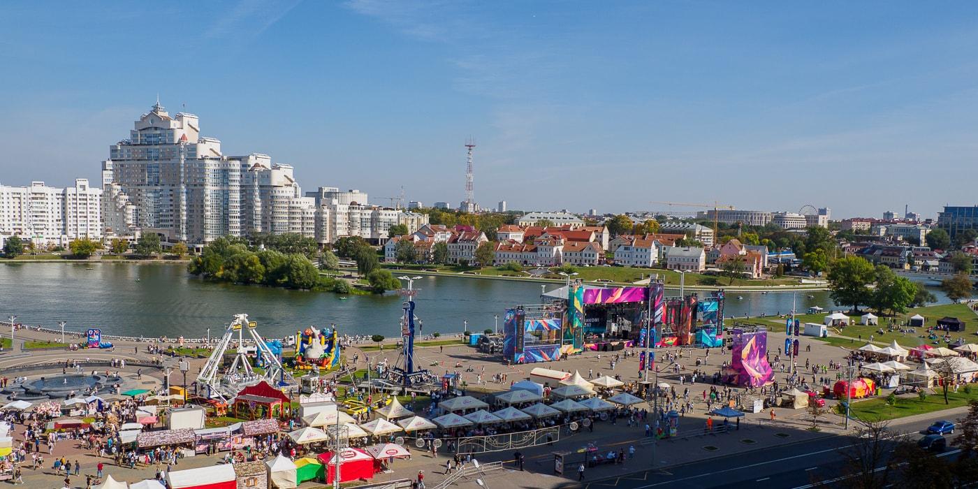Минск гуляет. Фоторепортаж со дня рождения столицы