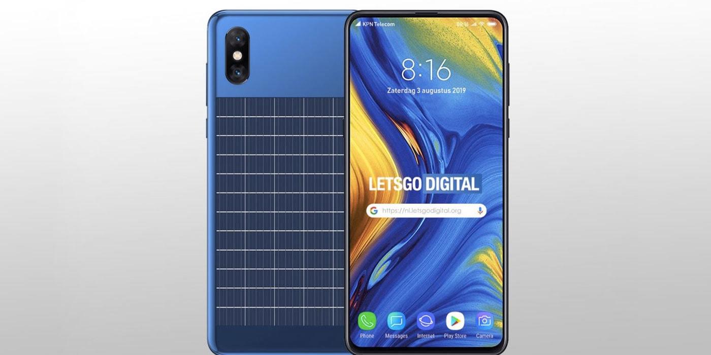 Xiaomi запатентовала смартфон со встроенной солнечной батареей