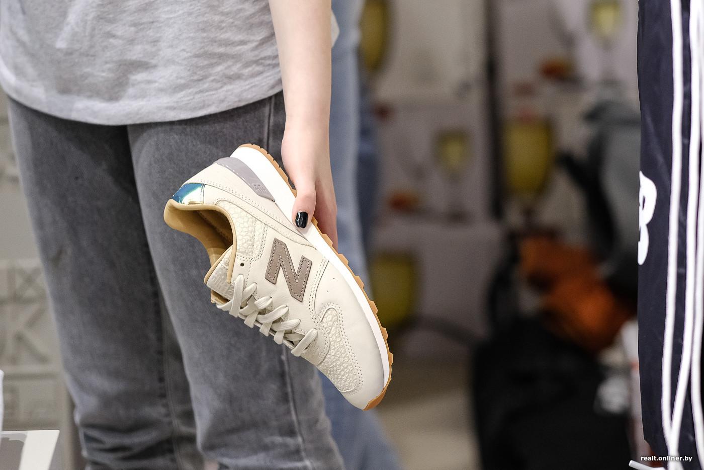 97f91d490f56 Продажи оказались в четыре раза выше, чем мы ожидали. 80% посетителей  говорят, что у них уже есть кроссовки New Balance, и они знают, что это за  марка.