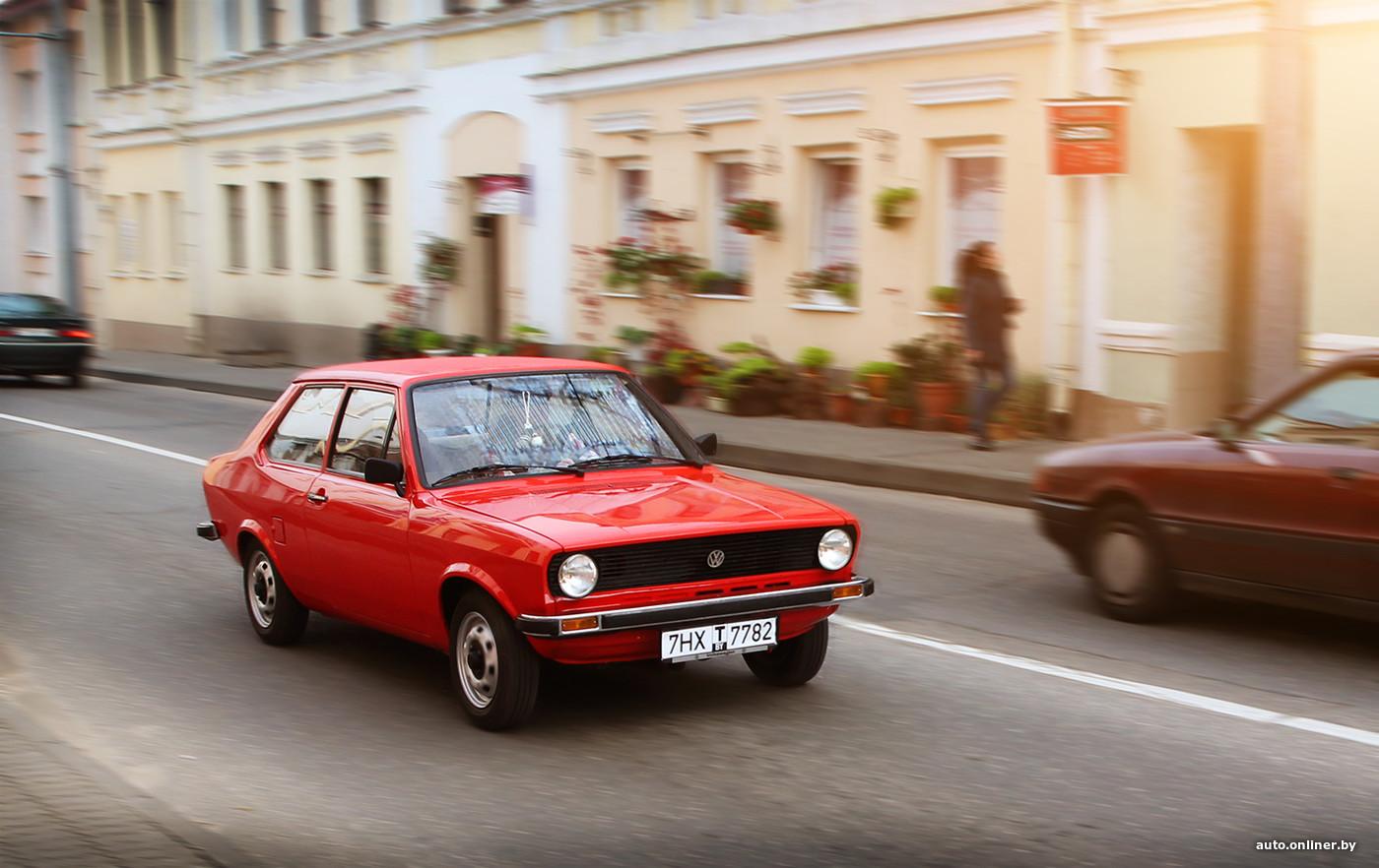 Вы слыхали о таком Volkswagen? Гродненец восстановил Derby из 70-х