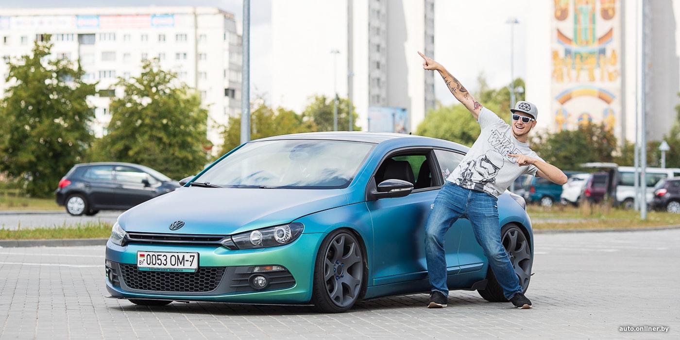 «Мне просто хочется выделяться из толпы». История превращения одного Volkswagen Scirocco (19 фото)
