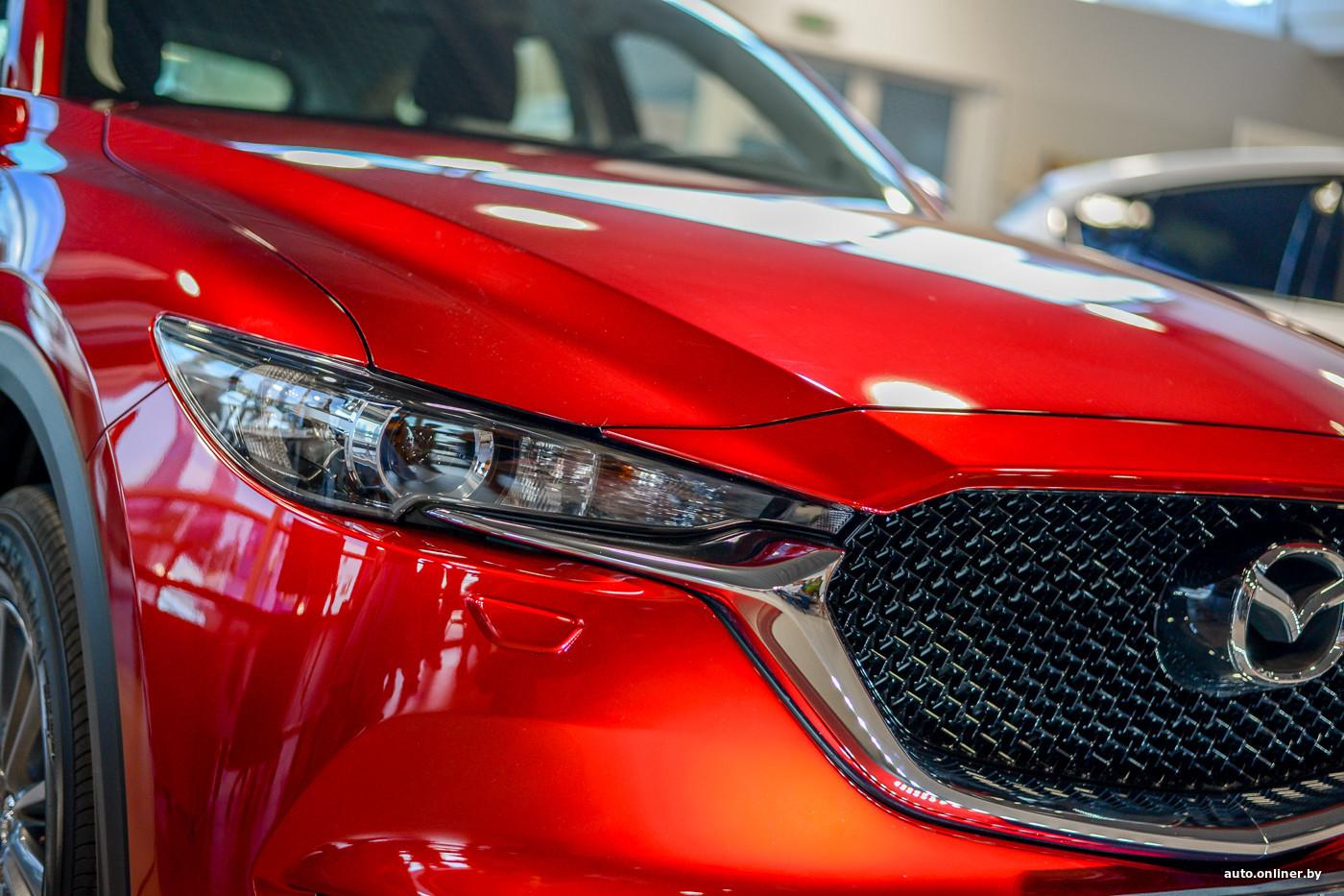 В Минске прошла презентация новой Mazda CX-5 (20 фото)