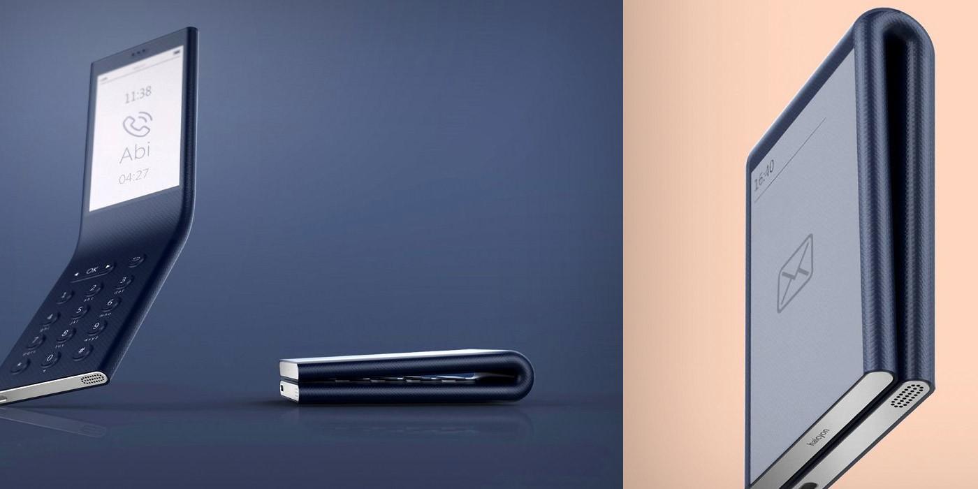 Дизайнер показал концепт гибкого телефона Halcyon