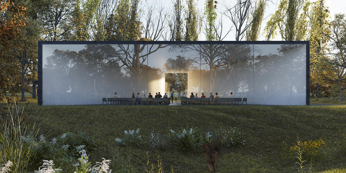 В Амстердаме представили современный центр похоронных церемоний