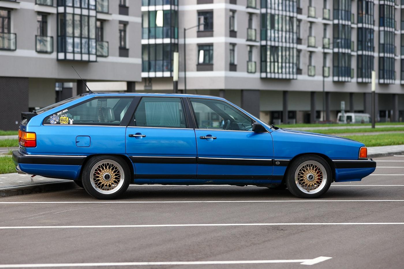 Audi 100 для души. Как минчанин дал 35-летней «сотке» новую жизнь