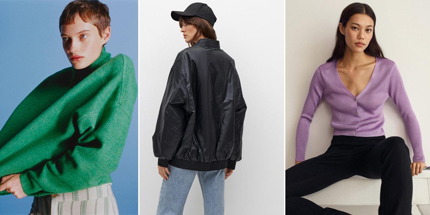 Стеганые куртки, трикотажные платья, косынки. Топ-15 трендов осени 2021 года