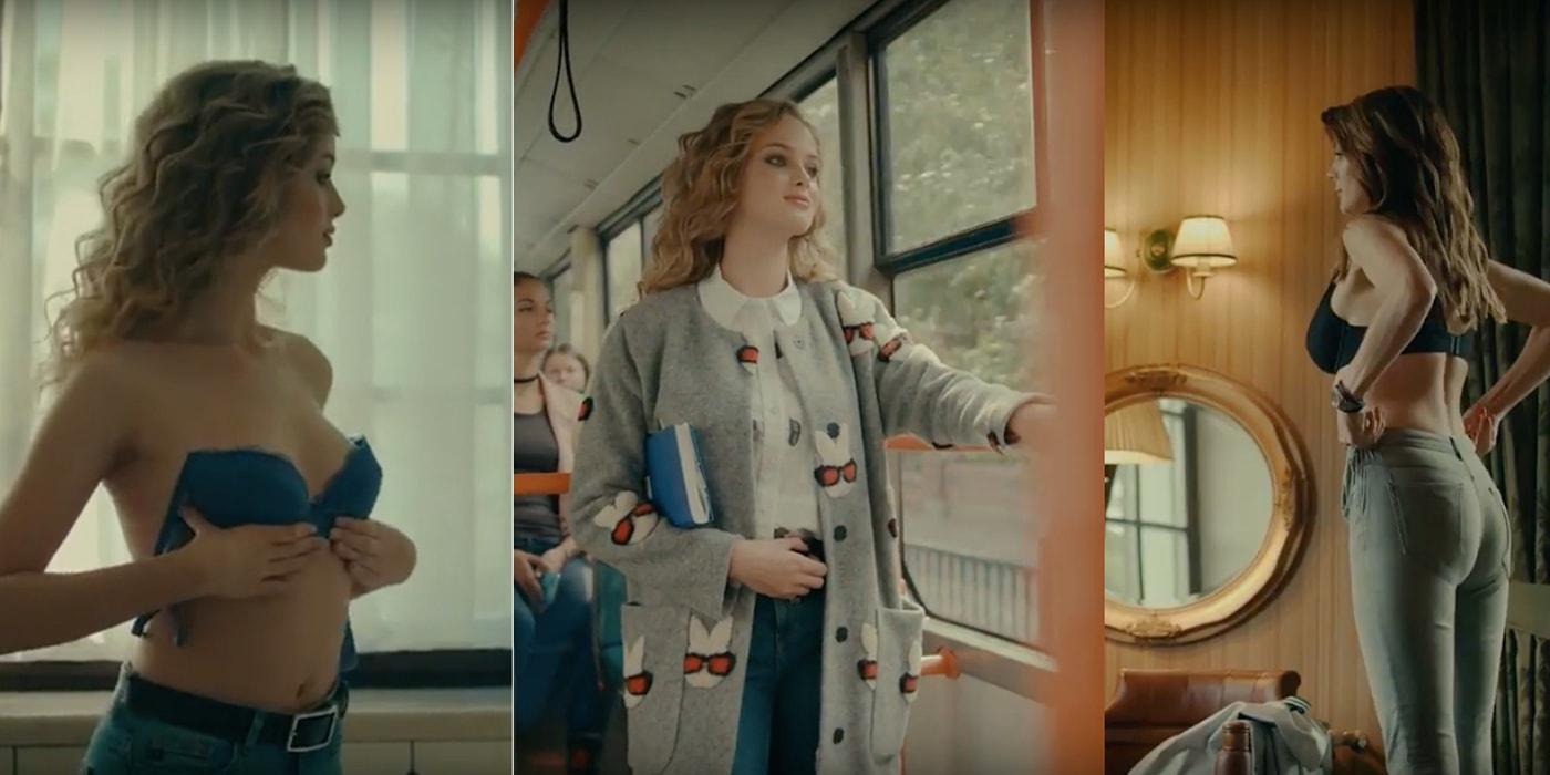 Девушки в белье, пальто и немного футбола. «Динамо-Брест» и Elema стали партнерами, записав волнующее видео