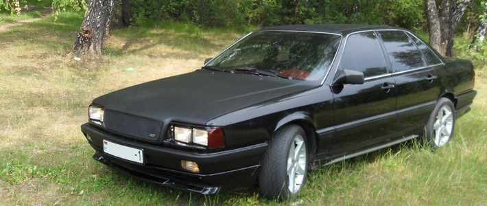 программа тюнинга автомобиля audi coupe 1980