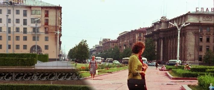 Было — стало: площадь Ленина/Независимости в 1964 году и сегодня