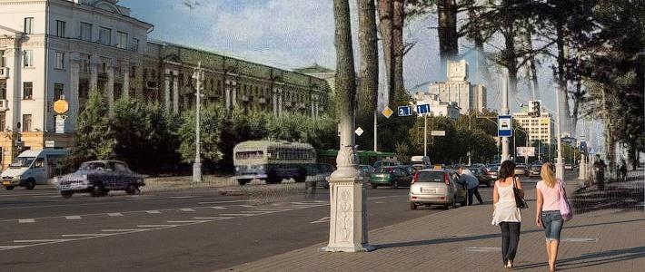 Было — стало: площадь Калинина в Минске полвека назад и сегодня