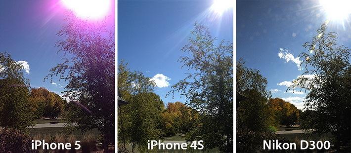 Новые проблемы iPhone 5: фиолетовый ореол на фото и застревающий кабель