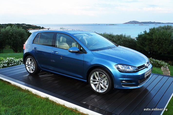 photos de vw golf vii bleu pacifique a5j. Black Bedroom Furniture Sets. Home Design Ideas