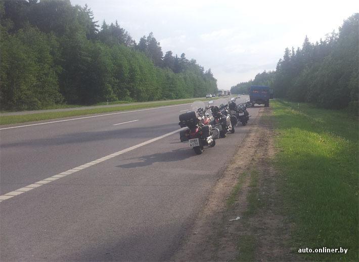 Московский байкер не доехал до фестиваля в Бресте — его сбил ЗИЛ