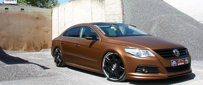 На дизельный Volkswagen Passat СС установили диски Bentley - Авто ...