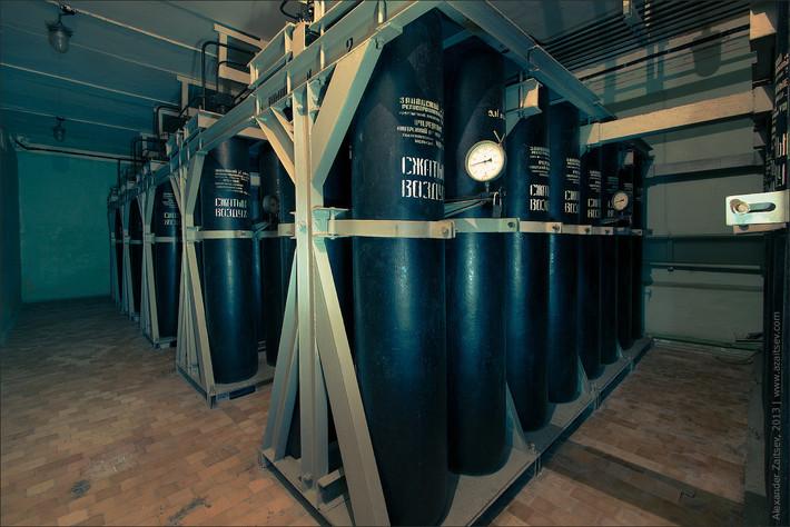 Сохранившийся бункер времен холодной войны под Брестом