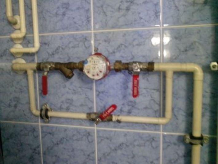 Воруют воду из системы отопления