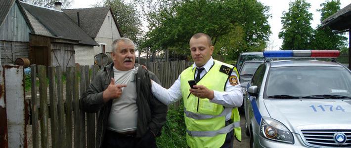 В результате конфликта в деревне под Брестом было возбуждено уголовное дело за насилие в отношении сотрудника МВД