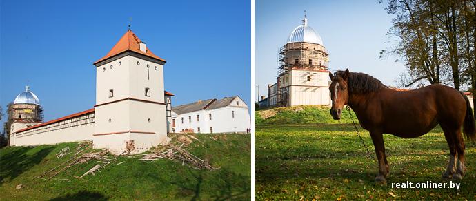 Белорус, не дождавшись помощи государства, уже 12 лет вручную реставрирует замок в Любче — к делу подключились банк и волонтеры