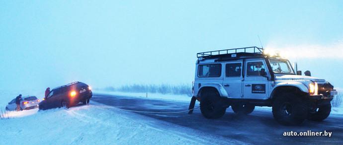 Фотофакт: первый тест-драйв Land Rover Discovery Sport проходит в стране вечного Хавера