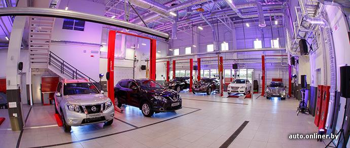 Официальный дилер Nissan приостановил продажи автомобилей в Минске