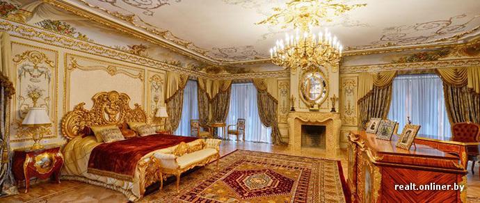 Изнутри: на Рублевке продается золотой дворец за $100 миллионов ...