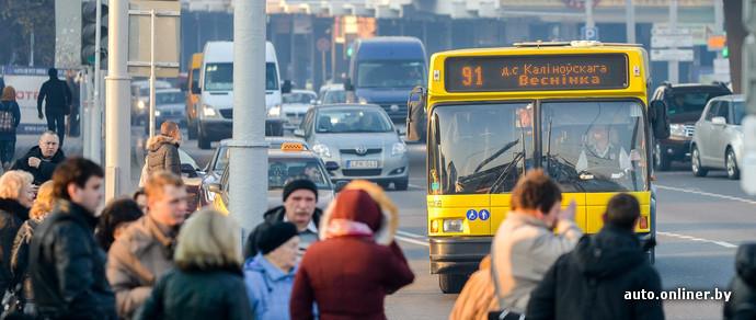 В Минске станет больше автобусов и троллейбусов с системами кондиционирования и видеонаблюдения