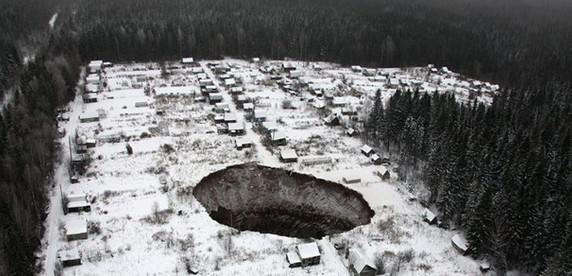Полный провал: как в России под землю уходят целые города