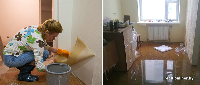 я сдаю квартиру жильцы затопили соседей
