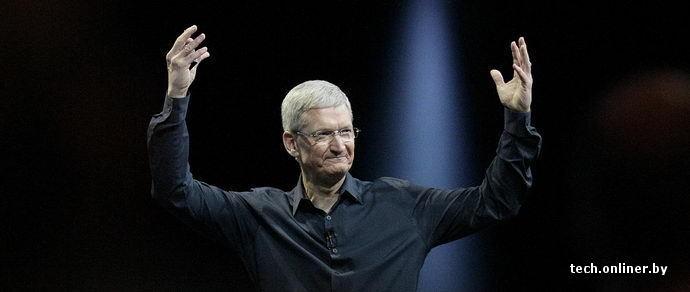 Глава Apple заработал за 2014 год больше, чем за 2012-й и 2013-й, вместе взятые