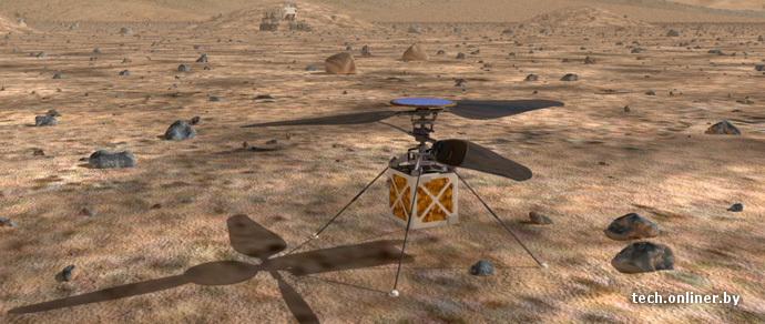 NASA тестирует автономный марсолет