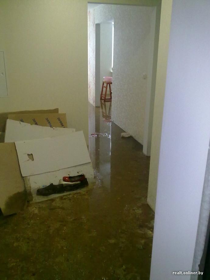 затопило канализацией кто виноват