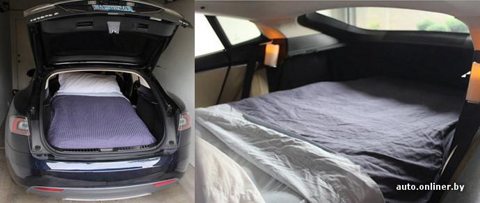 На Airbnb сдают в аренду отель, сделанный из Tesla. Цена — 85 долларов в сутки