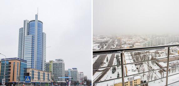 135 метров над Минском. Как выглядит изнутри бизнес-центр Royal Plaza