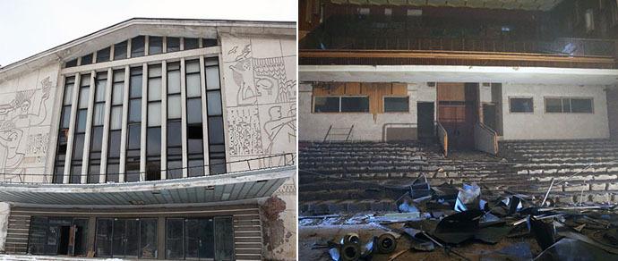 Как изменится дворец культуры «Лошицкий»: интерьеры обновят, панно демонтируют, а возле здания появится ресторан