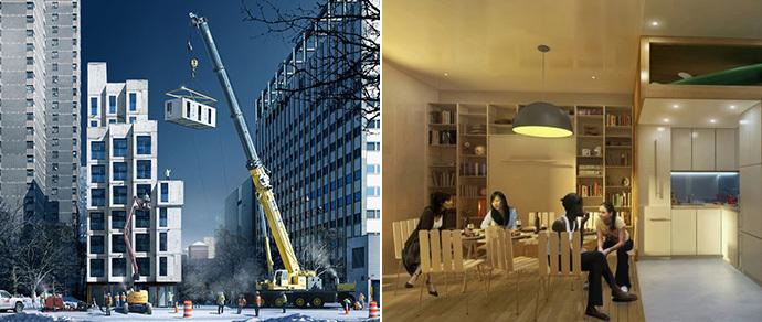 В Нью-Йорке построят первый в городе дом с микроквартирами