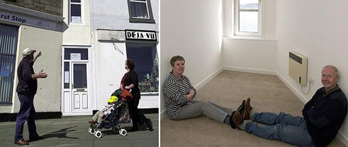 В Великобритании за $130 000 продается самый узкий дом в мире с фасадом шириной всего 1,2 метра