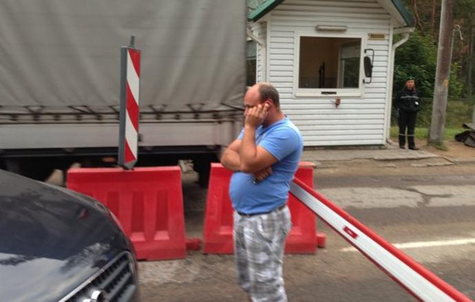 Происшествия на границе: как белорусы пытаются покинуть страну (Фото, видео), фото-1