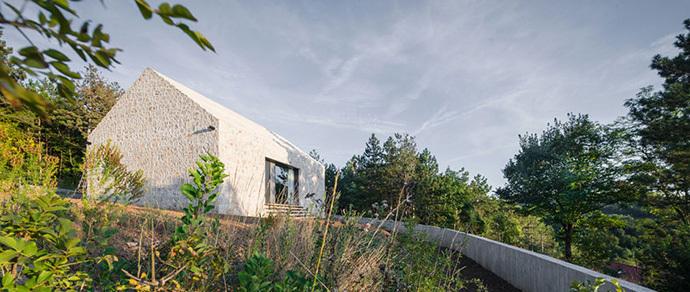Три в одном: в Словении построили дом-«матрешку»