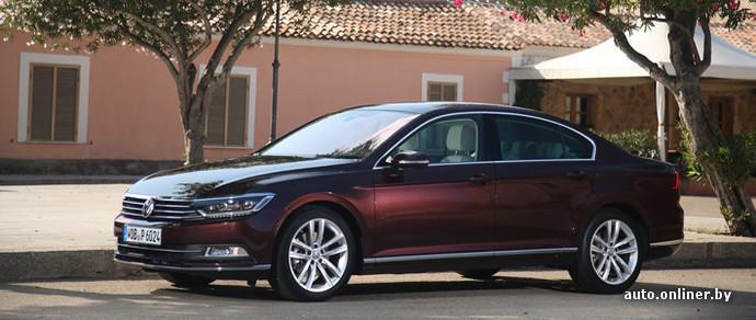 Volkswagen Passat B8 назвали «Автомобилем года в Европе»
