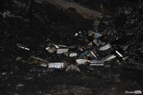 На Волынщине разбился самолет с белорусскими сигаретами