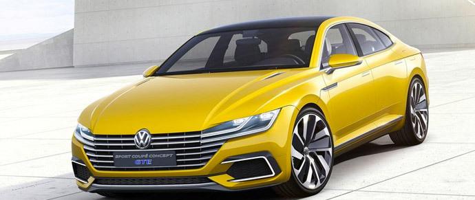 Немцы показали, каким будет новый Volkswagen CC