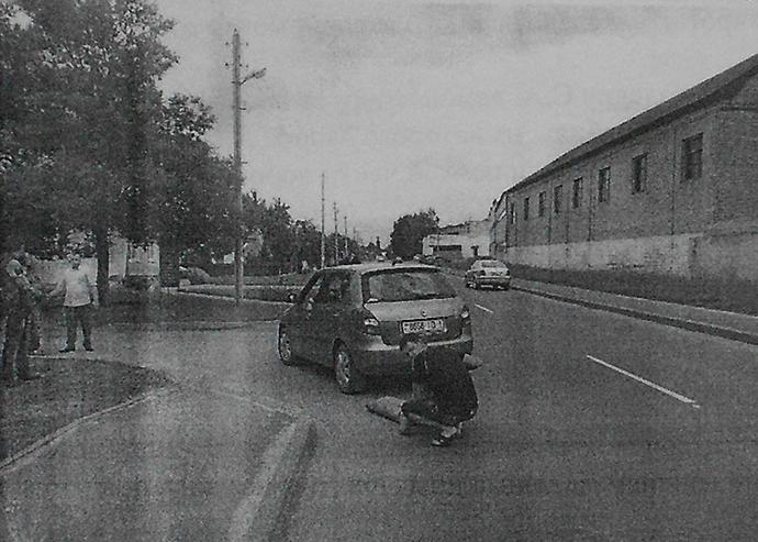 Водитель пытается доказать в суде, что пешеход сама упала и ударилась головой об асфальт