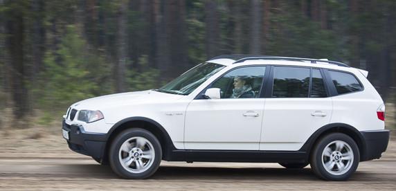 BMW X3 (вне конкурса): острые черты лица, покатые плечи, упругая попка и невероятно добрые глазки