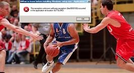Из-за автоматического обновления Windows немецкая баскетбольная команда опустилась в низший дивизион