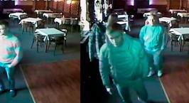Случай в минском кафе: молодые люди заказали пиво с пиццей, а потом решили удрать. Один из них сломал дверь